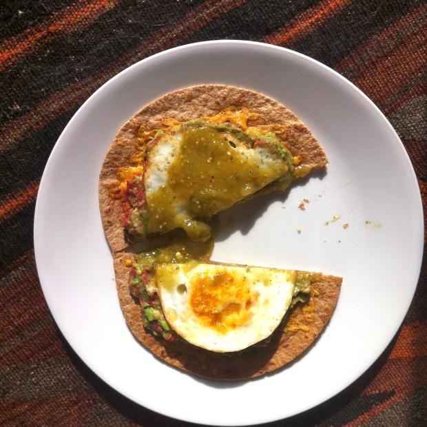 Egg Tostada