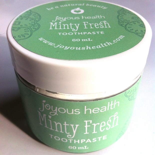 Joyous Health Minty Fresh Toothpaste